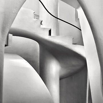 Staircase in Casa Batllo by Cretense72