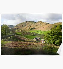 Cumbrian Morning, Martindale Poster