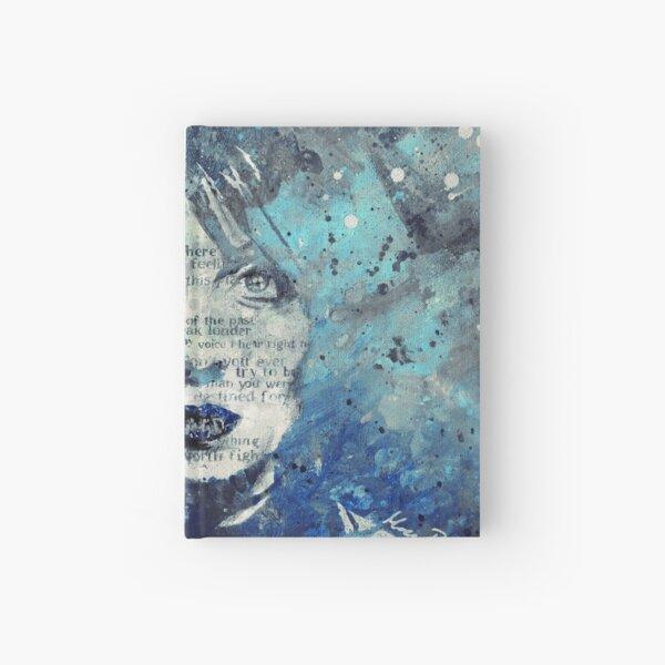 Farewell, Mona Lisa: Winter (flower girl graffiti painting) Hardcover Journal
