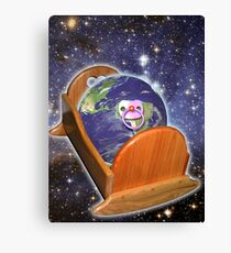 Birth Of Earth Canvas Print