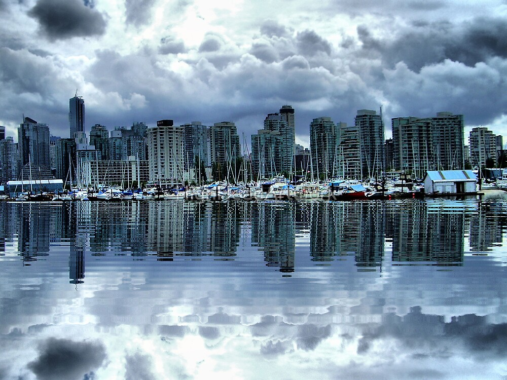 Vancouver by HighHeadArtwork