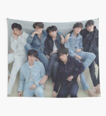 BTS LOVE YOURSELF 轉 TEAR // R VER Wall Tapestry