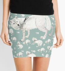 Totem tundra wolf (Tundrarum) Mini Skirt