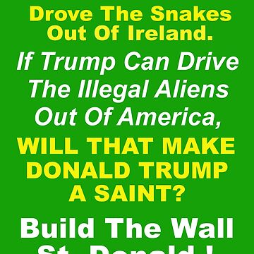 Build The Wall St. Donald by ecliptomaniac