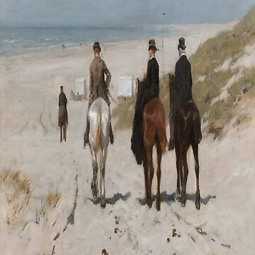 Morning Ride on the Beach-Anton Mauve by LexBauer