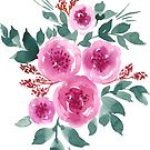 Pink peonies by Foxeye Daisy