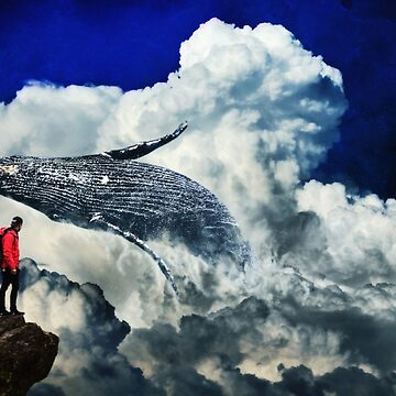 Whale in yhe Clouds by GEn Z by Gen-Z