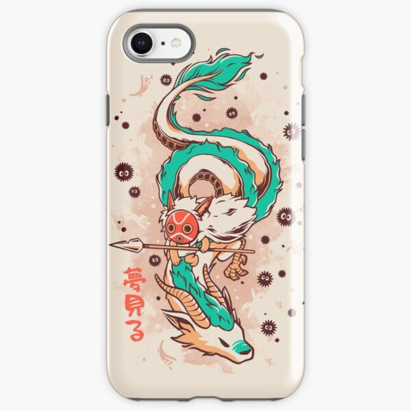 The Princess and the Dragon iPhone Tough Case
