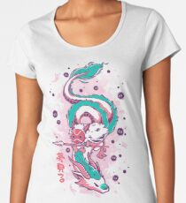 The Princess and the Dragon Premium Scoop T-Shirt