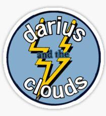 Darius and the Clouds Sticker