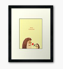 Mother's day Framed Print