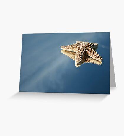 StarFish Reflections Greeting Card