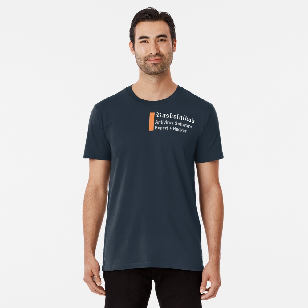 Raskolnikov's Coding Crime & Punishment Premium T-Shirt
