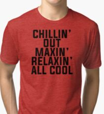 Fresh Prince of Bel-Air lyrics Tri-blend T-Shirt