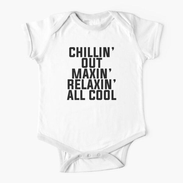 Fresh Prince of Bel-Air lyrics Short Sleeve Baby One-Piece