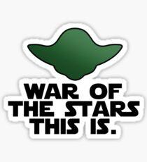 Wise jedi Sticker
