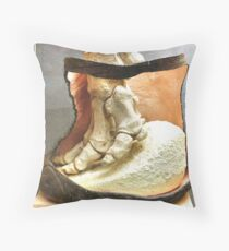 THE ELEPHANT FOOT Throw Pillow