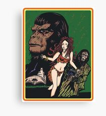 Apes Zone Canvas Print