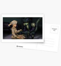 Komugi and Meruem Postcards