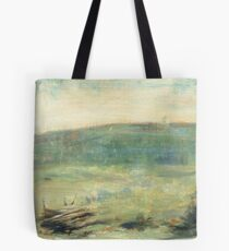 Landscape at Saint-Ouen by Georges Seurat, 1878 Tote Bag