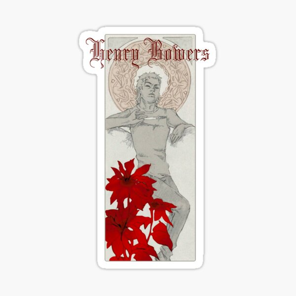 Henry Bowers Art Deco Sticker