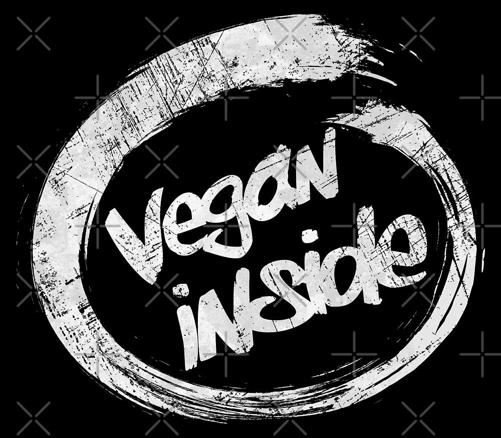 Vegan Inside - White Edition by Lidra