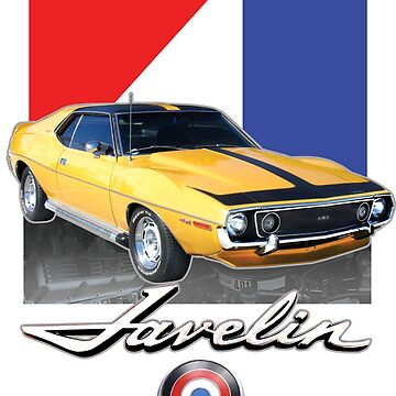 AMC Javelin Shirt American Motors Javelin AMX Tshirt by darkvortex