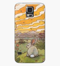 Bunny Sunset Case/Skin for Samsung Galaxy