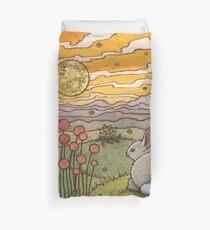 Bunny Sunset Duvet Cover