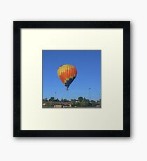 Hot Air Balloon Over GC, ID in May Framed Print