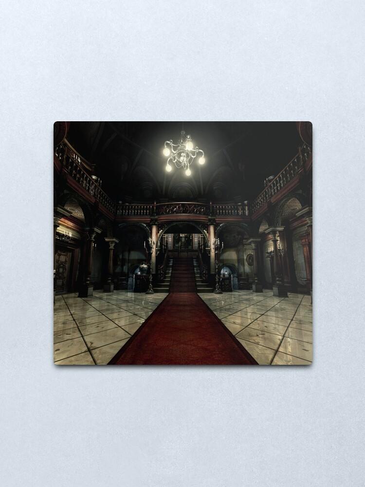 Alternate view of Resident Evil - Arklay Hall Metal Print