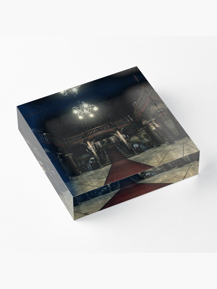 Alternate view of Resident Evil - Arklay Hall Acrylic Block