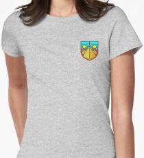 egypt symmetry Women's Fitted T-Shirt