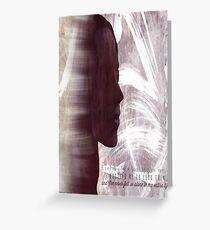 Faith Lehane - The Dark Slayer Greeting Card