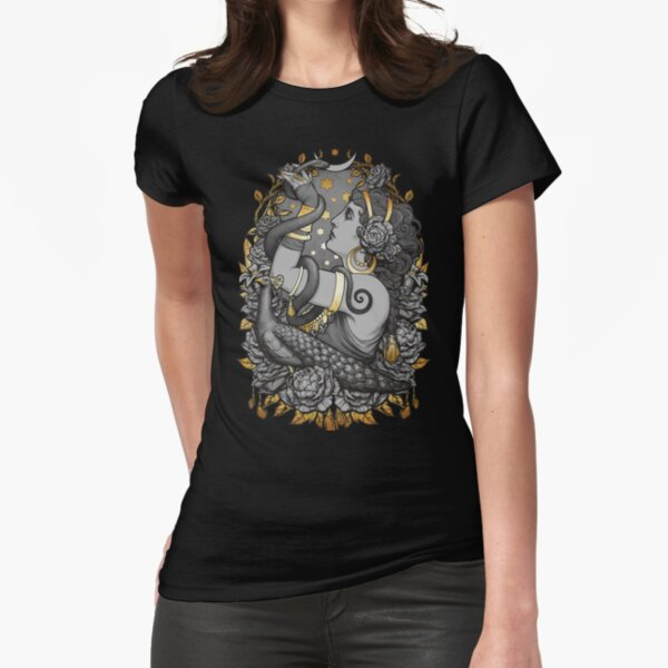Tribal Belly Dancer Witch Fitted T-Shirt