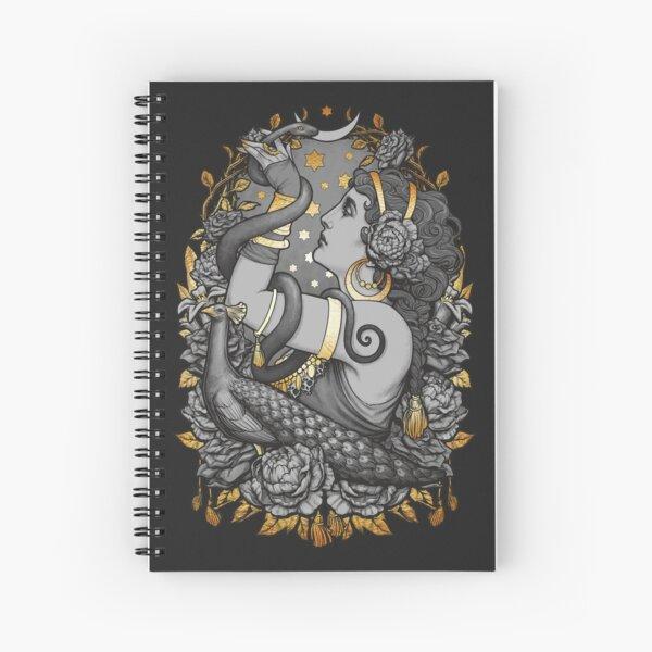 Tribal Belly Dancer Witch Spiral Notebook