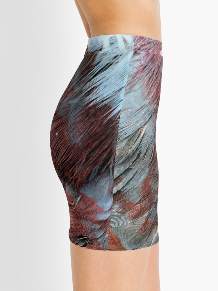 Alternate view of Bright feathers Mini Skirt