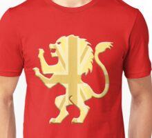 Golden Union Jack Lion Rampant Unisex T-Shirt