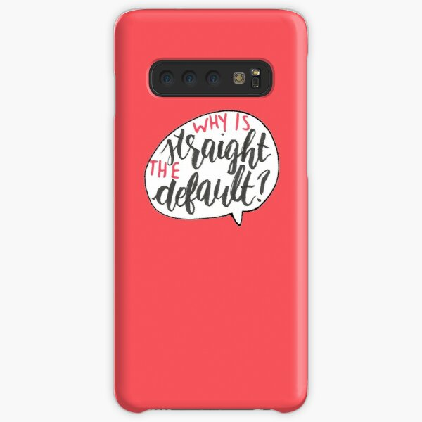 Why Is Straight The Default? - Simon Vs. Samsung Galaxy Snap Case