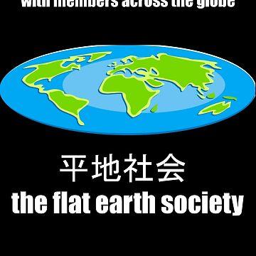 flat earth  by simeonrussell