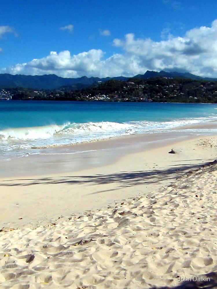 Grand Anse Beach, Grenada. by JohnDalkin
