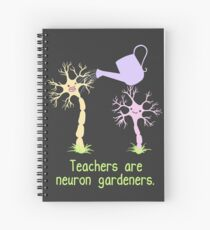 Teachers Are Neuron Gardeners Spiral Notebook