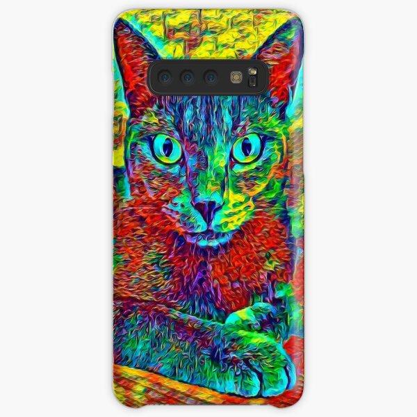 CAT COLORFUL Samsung Galaxy Leichte Hülle