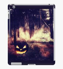 Pumpkins in the Night Forest iPad Case/Skin