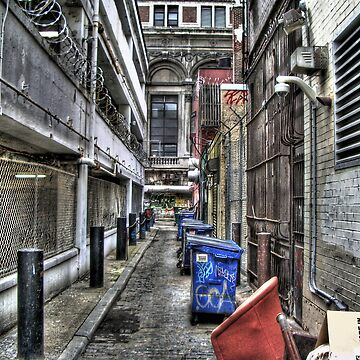 Philly Alley HDR by thirddesign