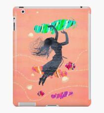 Space Surrealism Pop Vintage Woman I iPad Case/Skin