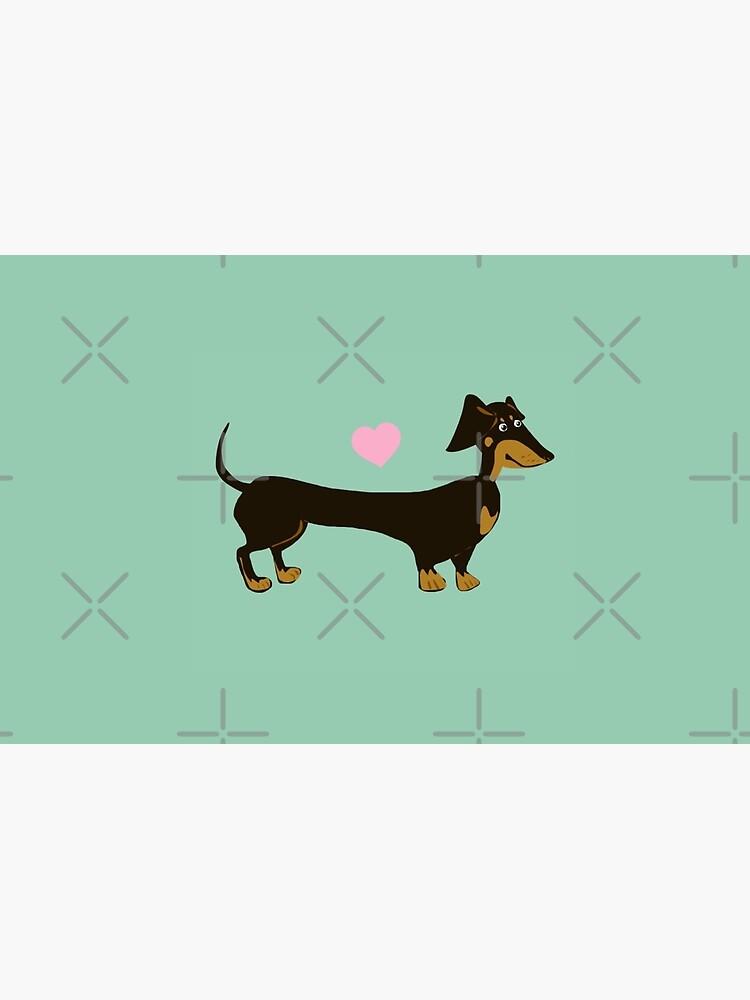 Minzig-Hund - Dackel-Wurst-Hund von LaurasLovelies