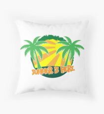 Summer is here Floor Pillow