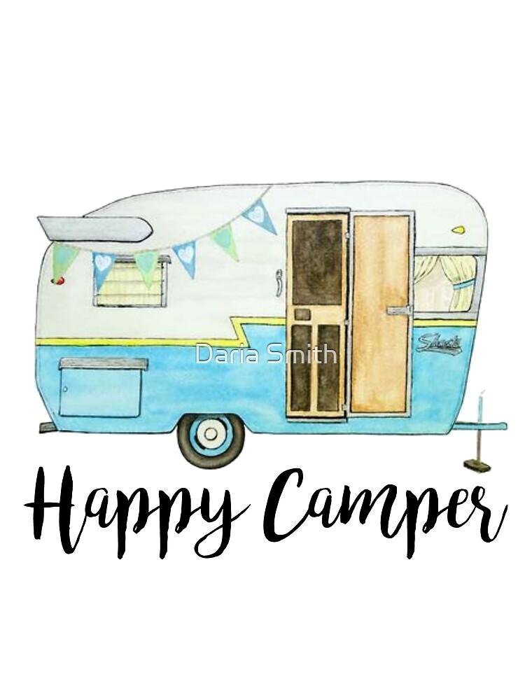 glücklicher Camper von dariasmithyt