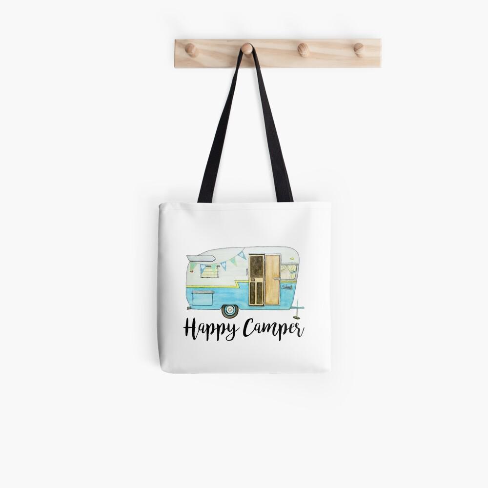 glücklicher Camper Tote Bag